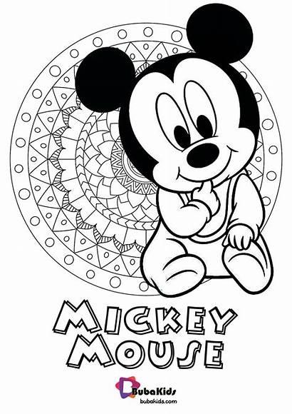 Coloring Mouse Train Pdf Mickey Thomas Printable