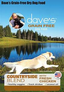 Dave39s pet food grain free countryside blend with fresh for Dave s dog food