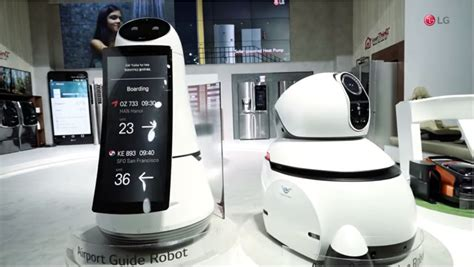 LG Airport Robot To Take Customer Service and Cleanliness ...