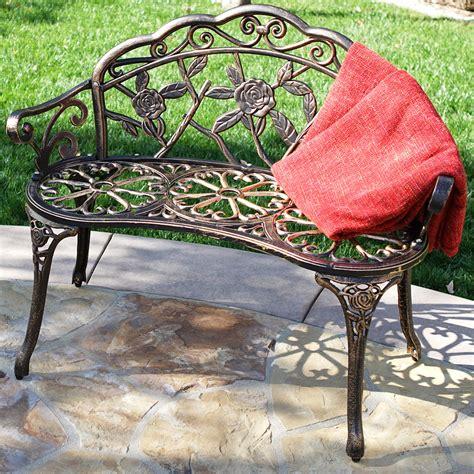 cast iron bronze antique style outdoor patio garden