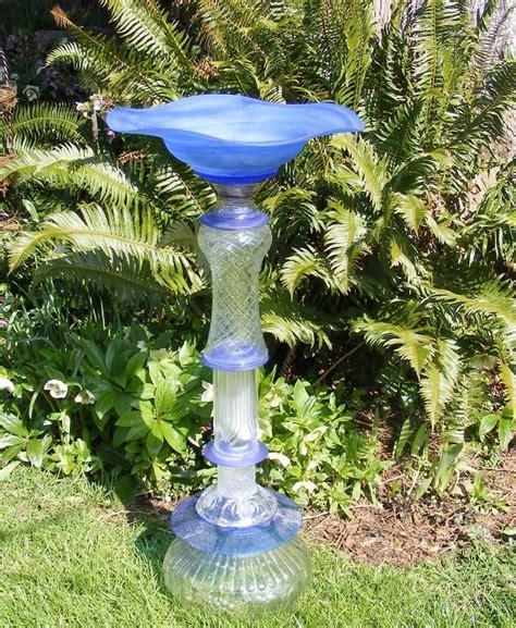Recycled Glass Garden Art  Garden Pinterest