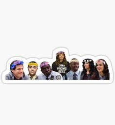 Shop affordable wall art to hang in dorms, bedrooms, offices, or anywhere blank walls aren't welcome. Brooklyn 99 Stickers | Stickers in 2019 | Aesthetic ...
