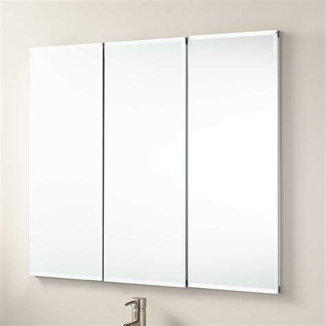 bathroom wall mirror cabinet 36 quot longview recessed mount medicine cabinet bathroom