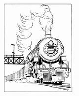 Locomotive Train Coloring Transportation Printable Drawings Drawing Kb Coloriage sketch template