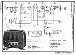 Emerson 560 Battery Radio Sch Service Manual Download  Schematics  Eeprom  Repair Info For