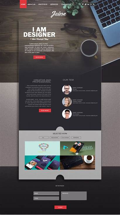 Webpage Creative Web Website Layout Template Templates