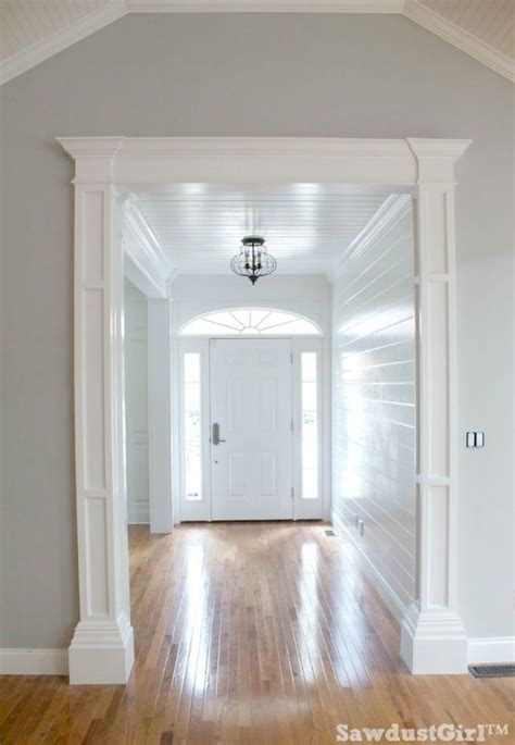 decorative mouldings ideas  pinterest columns