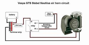 Replacement Horn Button Wiring Diagram