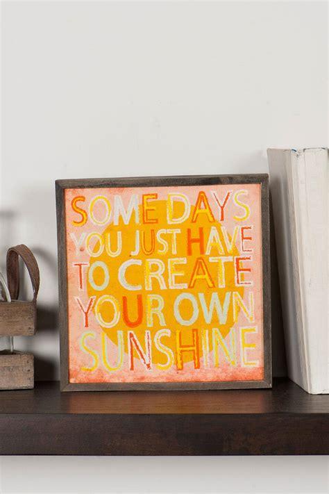 Create Your Own Sunshine Small Wall Art Francesca's