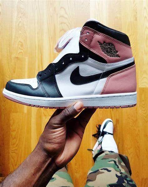 jordan pink air rust nigel sylvester release toe date sneakerfiles tags