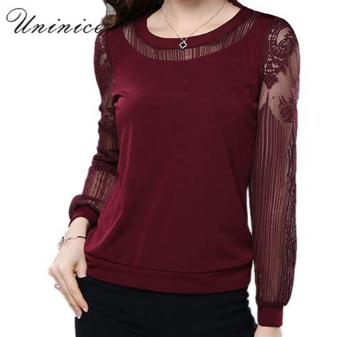 plus size chiffon blouse lace blouse shirt black plus size casual chiffon