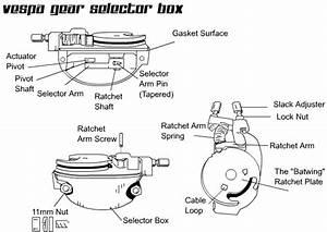 Repairing A Classic Vespa Scooter Gear Selector Box