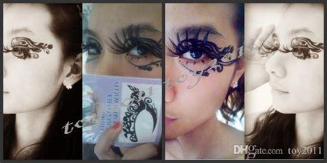 2016 Face Lace Eye Shadow Sticker Eye Makeup Artistic Eye Mask Club Party Cosmetics Face Mask
