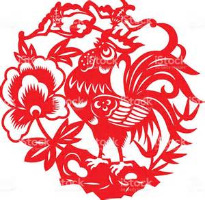 Chinese New Year Zodiac Rooster