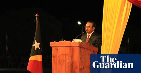 Much To Be Done New President Brings Timor Leste Hope
