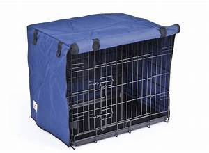 settledown 2 door waterproof dog crate covers blue ebay With waterproof dog kennel cover