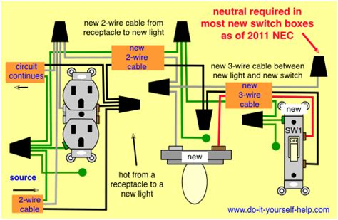 Wiring Diagram Take Hot From Receptacle For Light