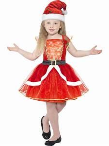 deguisement robe rouge lumineuse avec chapeau fille noel With robe fille 3 ans noel