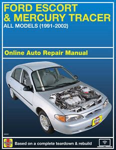 how to fix cars 1994 ford escort security system 1994 ford escort haynes online repair manual select access ebay