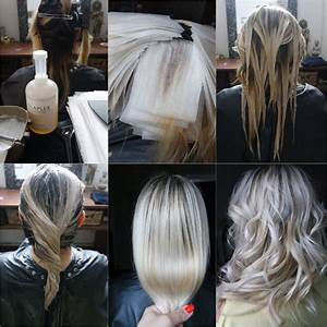 Ombre Hair Blond Polaire : balayage blonde polaire olaplex joico bymia marseille ideas for my hair blond polaire ~ Nature-et-papiers.com Idées de Décoration