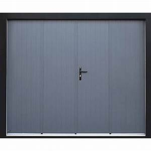 Porte de garage pliante manuelle artens essentiel 200 x for Porte de garage a la francaise 4 vantaux