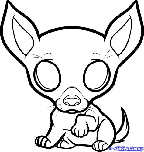 chihuahua coloring pages  kids coloring home