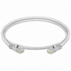 Gray Rj45 Cat5e Ethernet Lan Network Cable  U2013 3 Feet