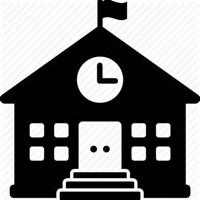 Icon Elementary Building College University Icons Clipart
