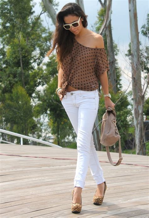 40 Trendy Ideas How To Wear White Jeans This Summer