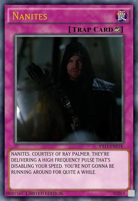 You've activated my trap card! nanitepost YOU'VE ACTIVATED MY TRAP CARD : arrow