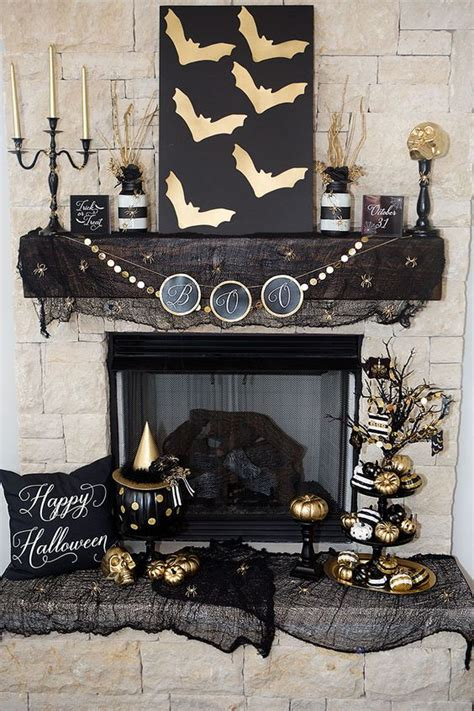 Decor And More by 15 Refined Black And Gold Decor Ideas Shelterness