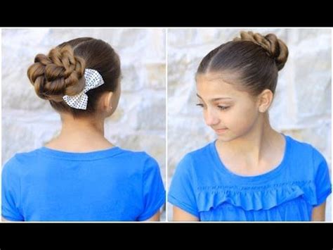 hair styles with a bun 1000 images about hairstyles on 2674