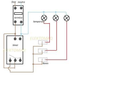solucionado como se instala un timer para luces
