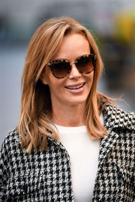 Only the best at besteyecandy.com! Amanda Holden in FS Collection Top in London 11/12/2020 • CelebMafia