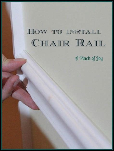 Diy Basics Chair Rails  The Diy Adventures Upcycling