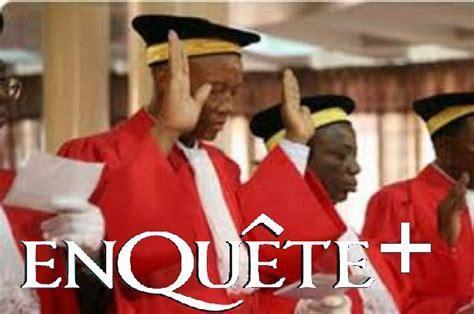 magistrats du si鑒e guinée les magistrats menacent de boycotter les législatives enquete