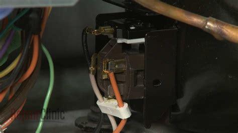 ge refrigerator ptc relay replacement wrx youtube