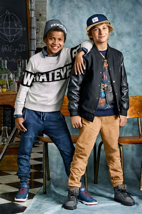 Tackle whatever the year throws your way with back to school boys clothes for the 8 - 14 year ...