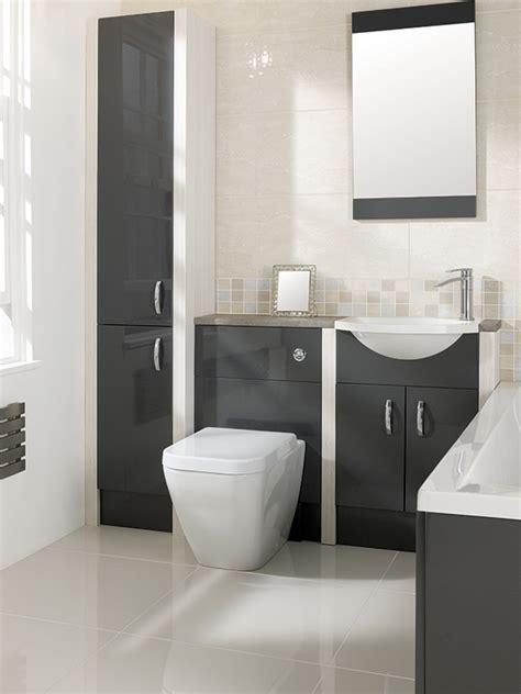 Calypso Brecon Graphite Grey & Hacienda White   Tiles Ahead