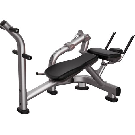 Ab Bench And Crunch Machine  Signature Series  Life Fitness