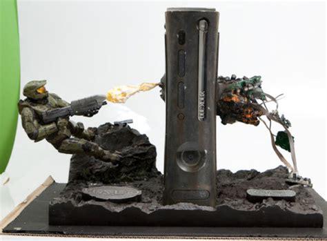 Custom Clear Halo Master Chief X Box 360 Craziest Gadgets