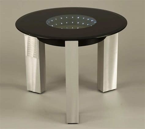 black glass end table modern black glass end table nl143 contemporary