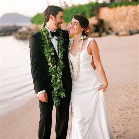 traditional outdoor destination wedding  hawaii