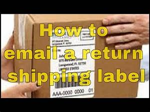 how to email a prepaid return shipping label easily youtube With how much is a shipping label
