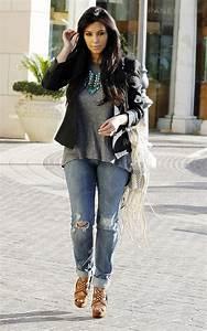 Kim Kardashian in 20 different looks - GETSTYLED.NET