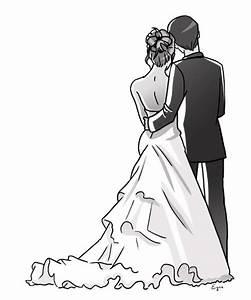Dessin Couple Mariage Noir Et Blanc :  ~ Melissatoandfro.com Idées de Décoration