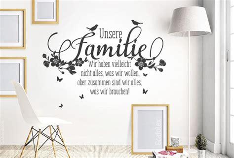 sch 246 ne teppiche f 252 rs wohnzimmer spruch ueber familie spruch ueber familie wandtattoo unsere familie spruch