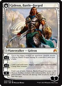 Gideon, Battle-Forged (Magic Origins) - Gatherer - Magic ...