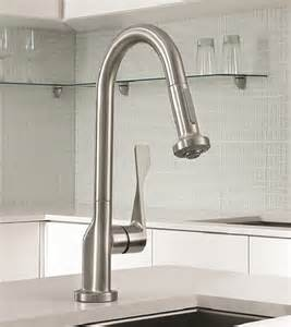 Top Kitchen Faucet Commercial Style Kitchen Faucet New Axor Citterio Prep Faucet By Hansgrohe
