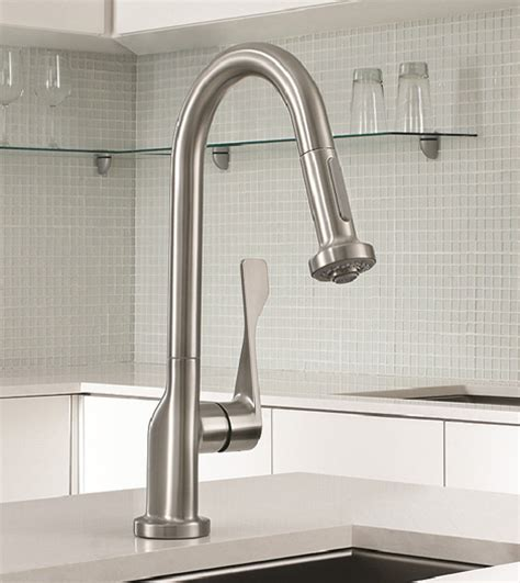 style kitchen faucets commercial style kitchen faucet axor citterio prep